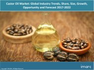 Global Castor Oil Market Share, Size , Price Trends and Forecast 2017-2022