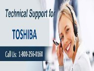 Toshiba Technical Support Phone Number 18002560160