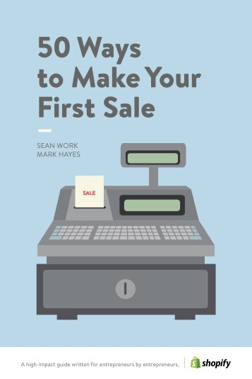 50-ways-to-make-your-first-sale