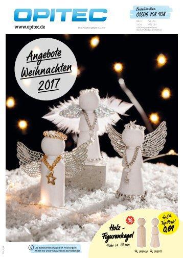 OPITEC Angebote Weihnachten 2017 Deutschland (T010)
