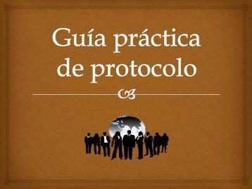 Guía práctica de protocolo
