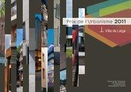 Brochure du Prix de l'Urbanisme 2011