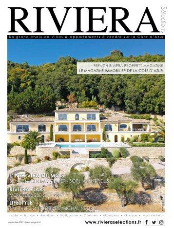 Riviera Sélections - Novembre 2017