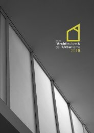 Brochure du Prix de l'Urbanisme 2015