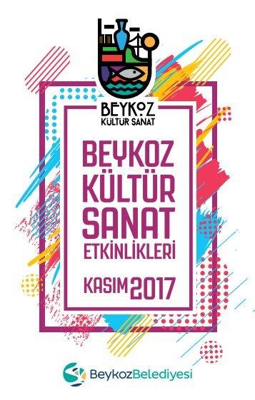 Beykoz Kültür Sanat - Kasım 2017