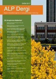 ALP Dergi - Ekim 2017