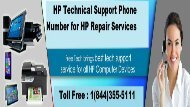 HP Technical Support Number 1-844-355-5111