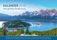 Voice of Hope Kalender 2018