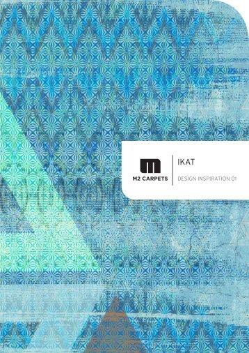 Die Broschüre zu unserer IKAT Design-Serie