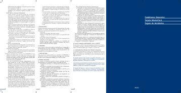 Tarjeta MasterCard Seguro de Accidentes - Barclaycard