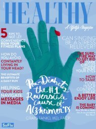 Healthy SoFlo Issue 54 - PRE-DIABETES: THE #1 REVERSIBLE CAUSE OF ALZHEIMER'S
