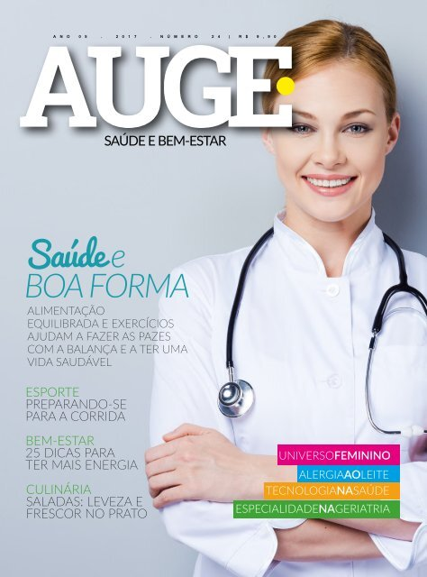 REVISTA AUGE - EDIÇÃO 24 - SAÚDE E BEM-ESTAR