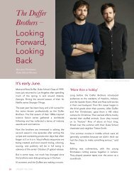 The Duffer Brothers - Looking Forward, Looking Back