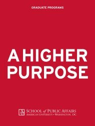 Graduate Programs Viewbook