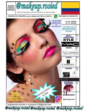 Makeup cat listo rosied comprimido 2