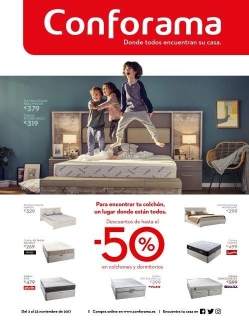 Catalogo Conforama Especial Colchones Y Dormitorios