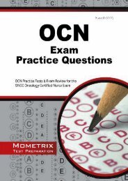 [PDF] OCN Exam Practice Questions: OCN Practice Tests   Exam Review for the ONCC Oncology Certified Nurse Exam - Read Unlimited eBooks and Audiobooks