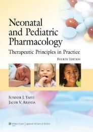 Online Book Neonatal and Pediatric Pharmacology: Therapeutic Principles in Practice - Read Unlimited eBooks and Audiobooks