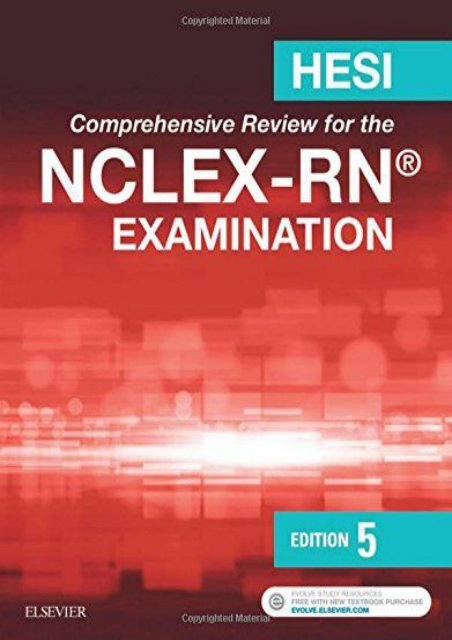 Ebooks download saunders comprehensive review for the nclex-rn examin….