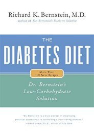Online Book The Diabetes Diet: Dr. Bernstein s Low-Carbohydrate Solution - Read Unlimited eBooks and Audiobooks