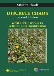 Read Online (PDF) Discrete Chaos, Second Edition: With Applications in Science and Engineering - Read Unlimited eBooks and Audiobooks