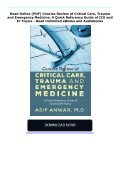 Read Online (PDF) Concise Review of Critical Care, Trauma and Emergency Medicine: A Quick Reference Guide of ICU and Er Topics - Read Unlimited eBooks and Audiobooks - Page 2