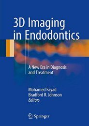 Online Book 3D Imaging in Endodontics: A New Era in Diagnosis and Treatment - Read Unlimited eBooks and Audiobooks