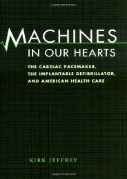 Online Book Machines in Our Hearts: The Cardiac Pacemaker, the Implantable Defibrillator, and American Health Care - All Ebook Downloads