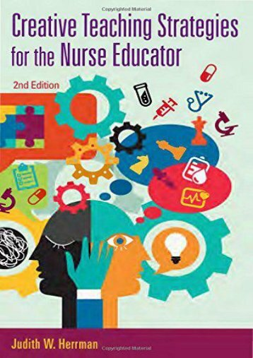 Online Book Creative Teaching Strategies for the Nurse Educator - Read Unlimited eBooks and Audiobooks