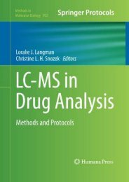 Download [PDF] LC-MS in Drug Analysis: Methods and Protocols - Read Unlimited eBooks and Audiobooks