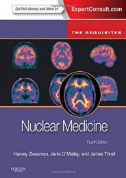 [PDF] Nuclear Medicine: The Requisites, 4e (Requisites in Radiology) - All Ebook Downloads