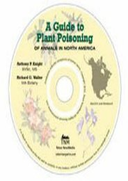Read Online (PDF) A Guide to Plant Poisoning of Animals in North America (CD-ROM) - All Ebook Downloads