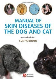 Online Book Manual of Skin Diseases of the Dog and Cat - All Ebook Downloads