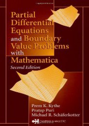 PDF Partial Differential Equations and Mathematica - All Ebook Downloads