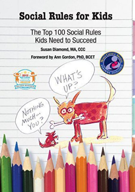 Read Online (PDF) Social Rules for Kids-The Top 100 Social ...