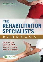 Online [PDF] The Rehabilitation Specialist s Handbook - All Ebook Downloads