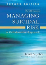 Download [PDF] Managing Suicidal Risk, Second Edition: A Collaborative Approach - All Ebook Downloads
