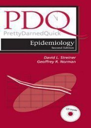 PDF PDQ Epidemiology - Read Unlimited eBooks and Audiobooks