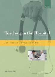 PDF Teaching in the Hospital (ACP Teaching Medicine Series) - Read Unlimited eBooks and Audiobooks