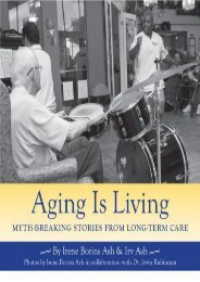 Read Online (PDF) Aging Is Living: Myth-Breaking Stories from Long-Term Care - All Ebook Downloads