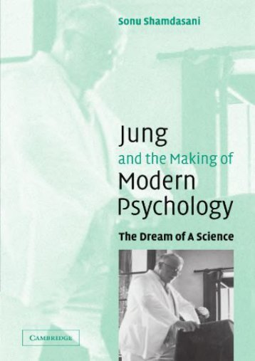 PDF Jung and the Making of Modern Psychology: The Dream of a Science - Read Unlimited eBooks and Audiobooks