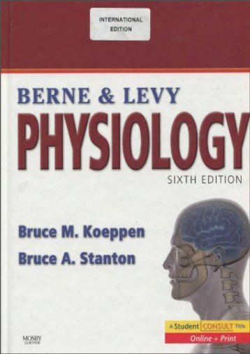 Download [PDF] Berne   Levy Physiology - All Ebook Downloads