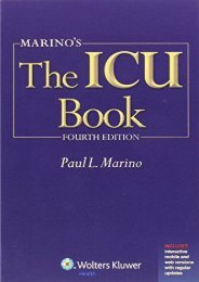 Online [PDF] Marino s The ICU Book: Print + Ebook with Updates (ICU Book (Marino)) - Read Unlimited eBooks and Audiobooks