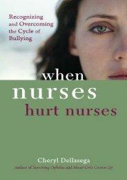 Online Book When Nurses Hurt Nurses - All Ebook Downloads