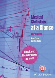 Online [PDF] Medical Statistics at a Glance - All Ebook Downloads