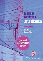Online [PDF] Medical Statistics at a Glance - All Ebook Downloads