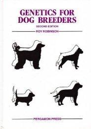 Online [PDF] Genetics for Dog Breeders - All Ebook Downloads