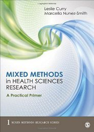 [PDF] Mixed Methods in Health Sciences Research: A Practical Primer (Mixed Methods Research Series) - All Ebook Downloads