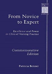 PDF From Novice to Expert: Excellence and Power in Clinical Nursing Practice, Commemorative Edition - Read Unlimited eBooks and Audiobooks