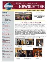 November 2017 District 24 Double Dozen Newsletter